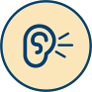 Hearing Dog Icon
